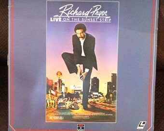 Laser Disc  of      Richard Pryor: Live on the Sunset Strip - 1983     LaserVideoDisc