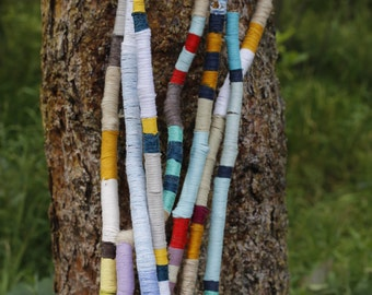 Yarn wrapped sticks