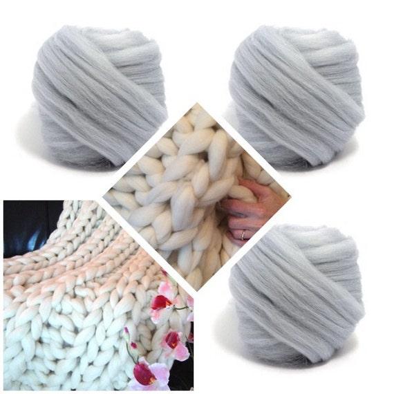 Super Chunky Knit Blanket, Pure Merino Wool, knit blanket, chunky throw,