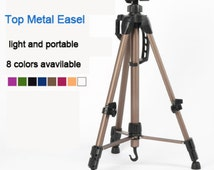 Metal Easel Painting High-grade Aluminum Canvas Easel Foldable Sketch Drawing Frame Multifunctional Painting Art Supplies Artist Easel