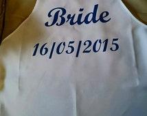 Bride Aprons