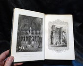 Rare Book Tourist in Italy Landscape Annual 1831 Leather Bound