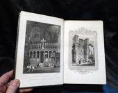 Rare Book Tourist in Italy Landscape Annual 1831 Leather Bound