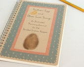 Chicken Planner,  A Detailed, Illustrated Planning Journal for the Chicken Keeper; Hand Crafted, 50+ pages with Full Color Illustrations