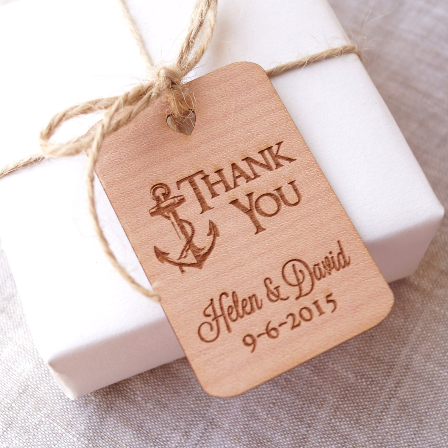 Wedding Favor Tags Wedding Thank You Tags Personalized Gift
