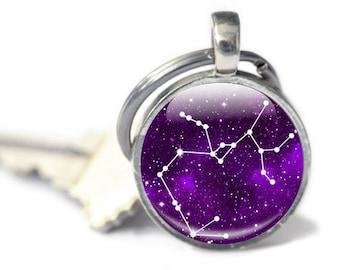 Sagittarius Keychains - Sagittarius Gifts - Zodiac Keychain (SKSG1)