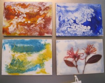 Choice of Encaustic Painting & Mixed Media Magnets