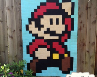 Super Mario Brothers Quilt Along & BOM Club - Block 01: Super Mario