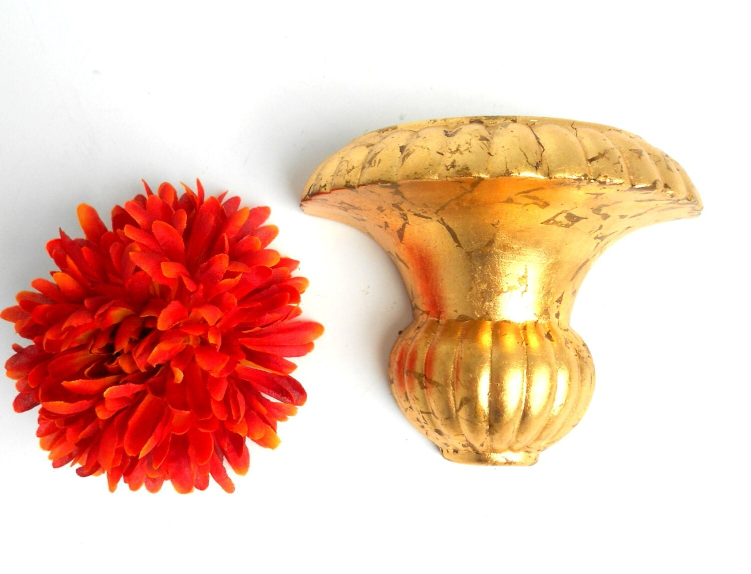 Wall Shelf Sconce Small Wall Sconce Wall Gold Sconce Gold