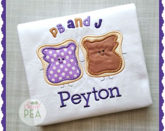 Peanut Butter and Jelly shirt - pb&j shirt - friendship shirt - back to school - Peanut Butter Jelly Time