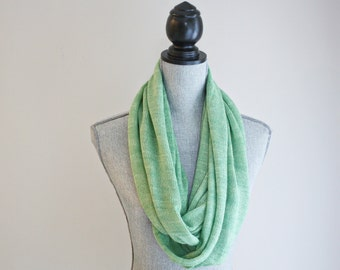 lace infinity extra long cowl : the Sofia cowl (made with Fair Trade yarn) / Dolia