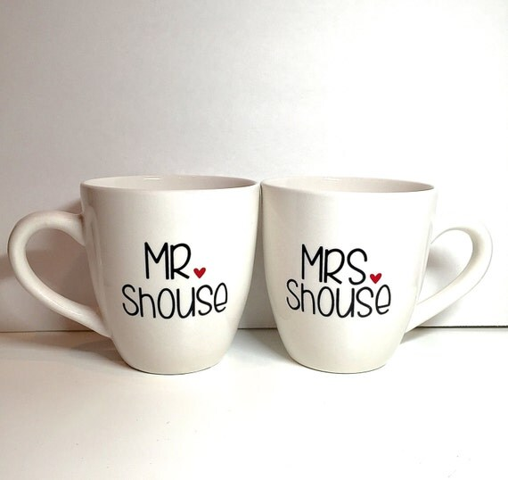 items similar to his and hers mugs mug set customized. Black Bedroom Furniture Sets. Home Design Ideas