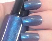 Blue magic nail varnish - 5ml handmade indie nail polish