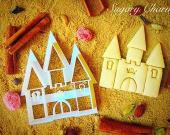 Little princess castle cookie cutter