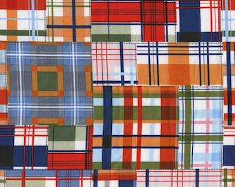 Patchwork Plaid ~ Michael Miller~ DC5159 Cotton