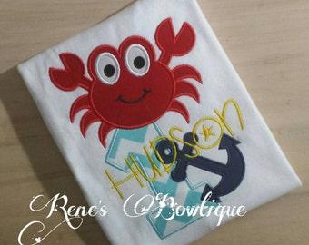 Crab and Anchor TShirt