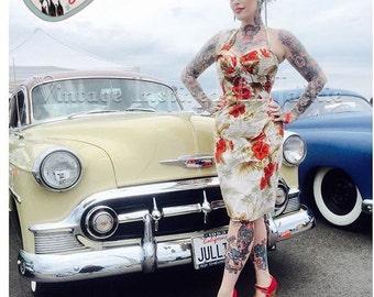 1950s Tiki Sarong Dresses