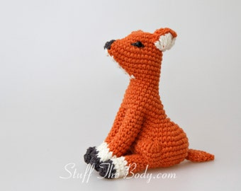 Timmy The Fawn Amigurumi Pattern, Seamless Deer Crochet Pattern, advanced techniques, toy pattern, home decor, present ideas, baby shower