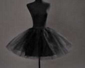 New Short Black Crinoline / Petticoat