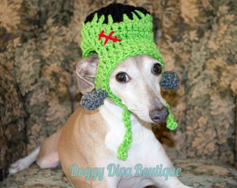 Frankenstein Hat - Halloween Hat - Halloween costume for a  Dog or Cat