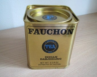 Fauchon Tea Tin