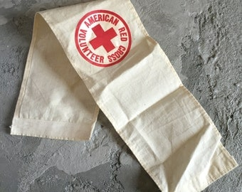 Vintage Red Cross Arm Band