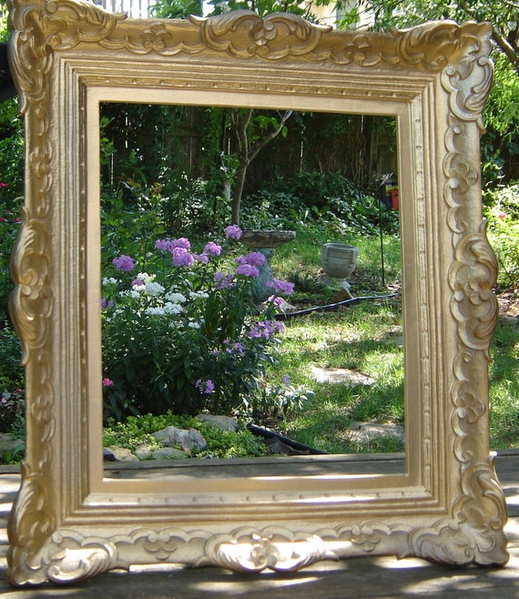 large gold ornate frame picture frame wedding photo prop extra large empty wall frame home decor