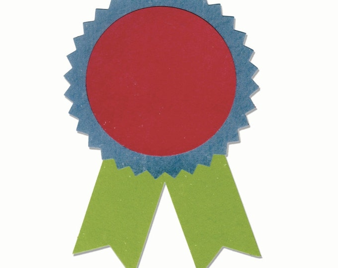 New! Sizzix Bigz Die - Award Ribbons by Echo Park Paper Co. 660446