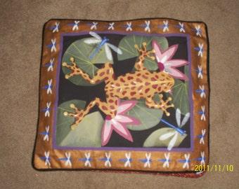 frog pillows