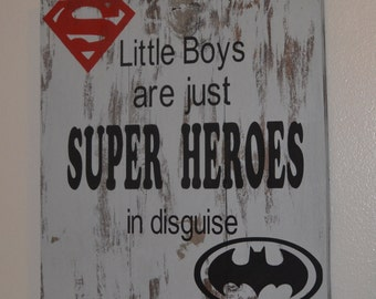 Little Boys are Super Heroes