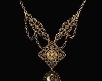 Steampunk Victorian Necklace