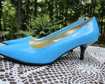Nice Turquoise/Blue Heels