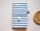 Fauxdori Blue wave Traveler's Notebook (Midori standard size notebook)