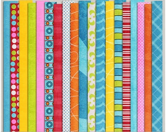 Beat The Heat - Papers for Digital Scrapbooking
