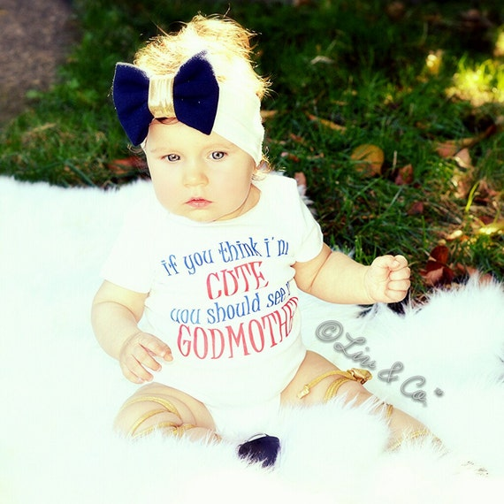 Godmother Outfit Baby Boy Clothes Godmother Shirt
