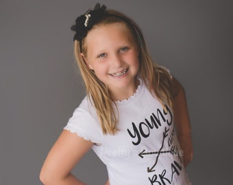 Young and Brave girls Bodysuit or t shirt