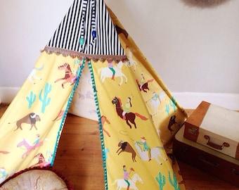 Handmade Children's Teepee/Wigwam