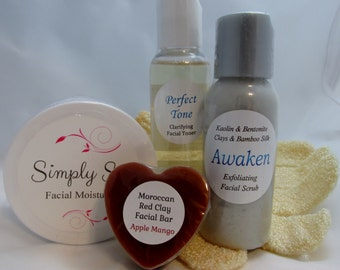 Daily Facial Kit - Essentials for a Happy & Healthy Face!