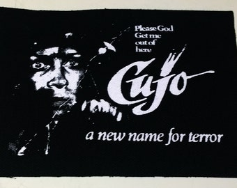 CUJO patch horror punk goth Free Shipping