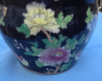 Hand painted planter