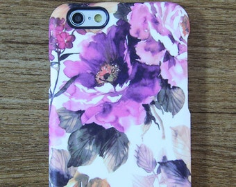 Abstract Watercolor Floral  iPhone 6/6s Case,iPhone 6/6s Plus Case,iPhone SE/5/5c/5s Case,Samsung Galaxy S7/S6 Edge/S6/S5/S4/S3,Note 5/4/3/2