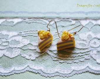 Polymer Clay Jewelry Sweet Miniature Earrings