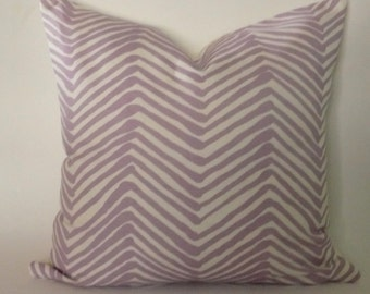 Quadrille Alan Campbell Zig Zag Pillow Cover