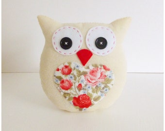 Lavender Scented Owl PDF Sewing Pattern and Tutorial, Instant Download