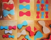 Bow Tie Cut Outs (Various Sizes and Colors Available)