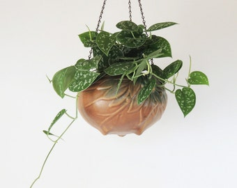 McCoy Hanging Basket Planter Vintage 1930's