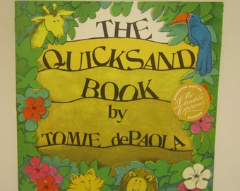 1991 The Quicksand Book by Tomie dePaola