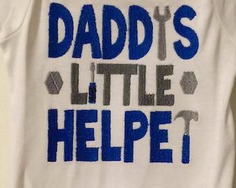 Daddy's Little Helper Onesie/Shirt