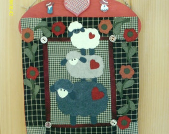 Wooly Sheep Applique
