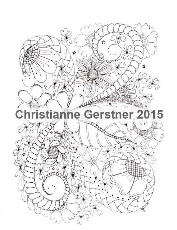 Instant Digital Download Flourish, From GDG, Vol. 2